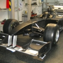 Lotus wind tunnel model