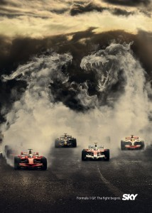 Sky F1 Monsters ad